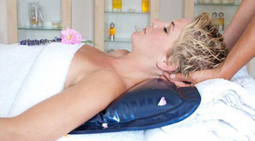 Warmwaterkussen massage